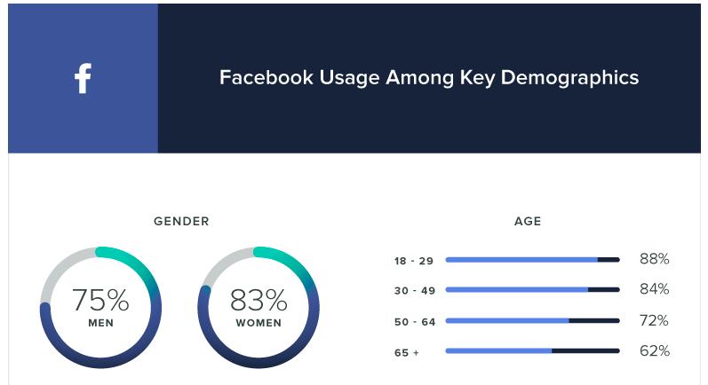 facebook gender demographics