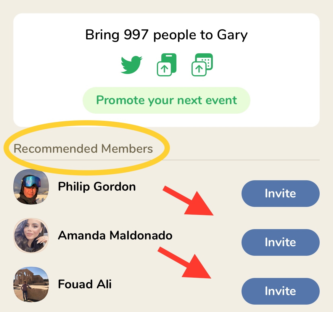 How to add recommended members to your club on clubhouse