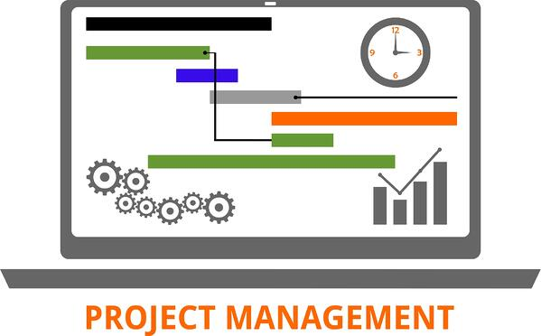 Project management system example