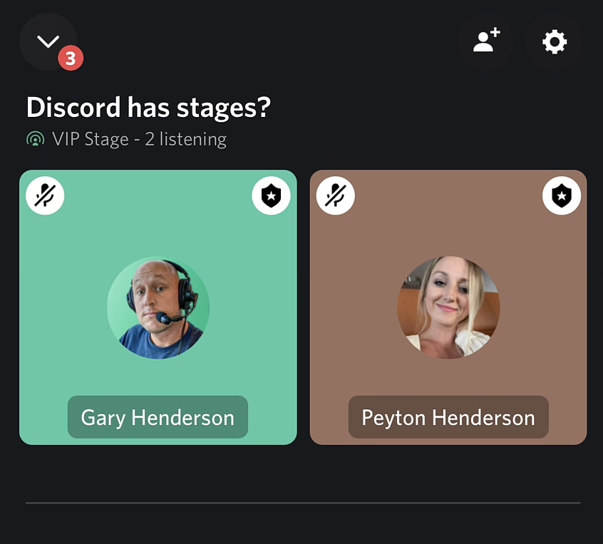 How to use Discord stages