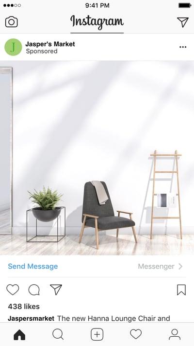 Messenger Conversation On Instagram
