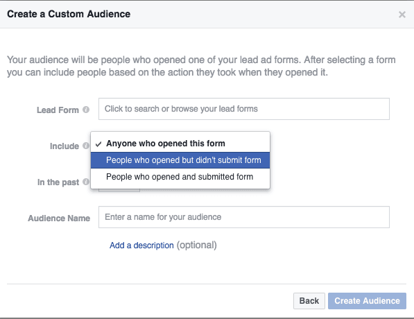 Facebook Messenger Custom Audiences