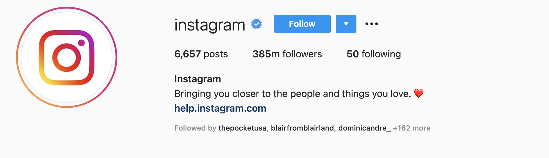 How to create an Instagram bio