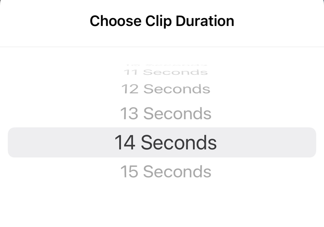 How to edit the clip duration on instagram story