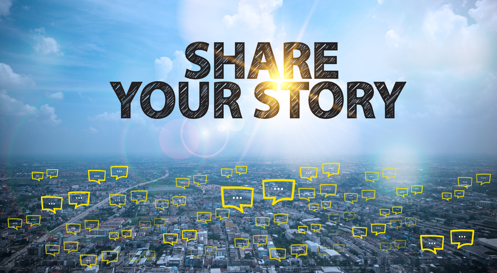 Share your story on Instagram
