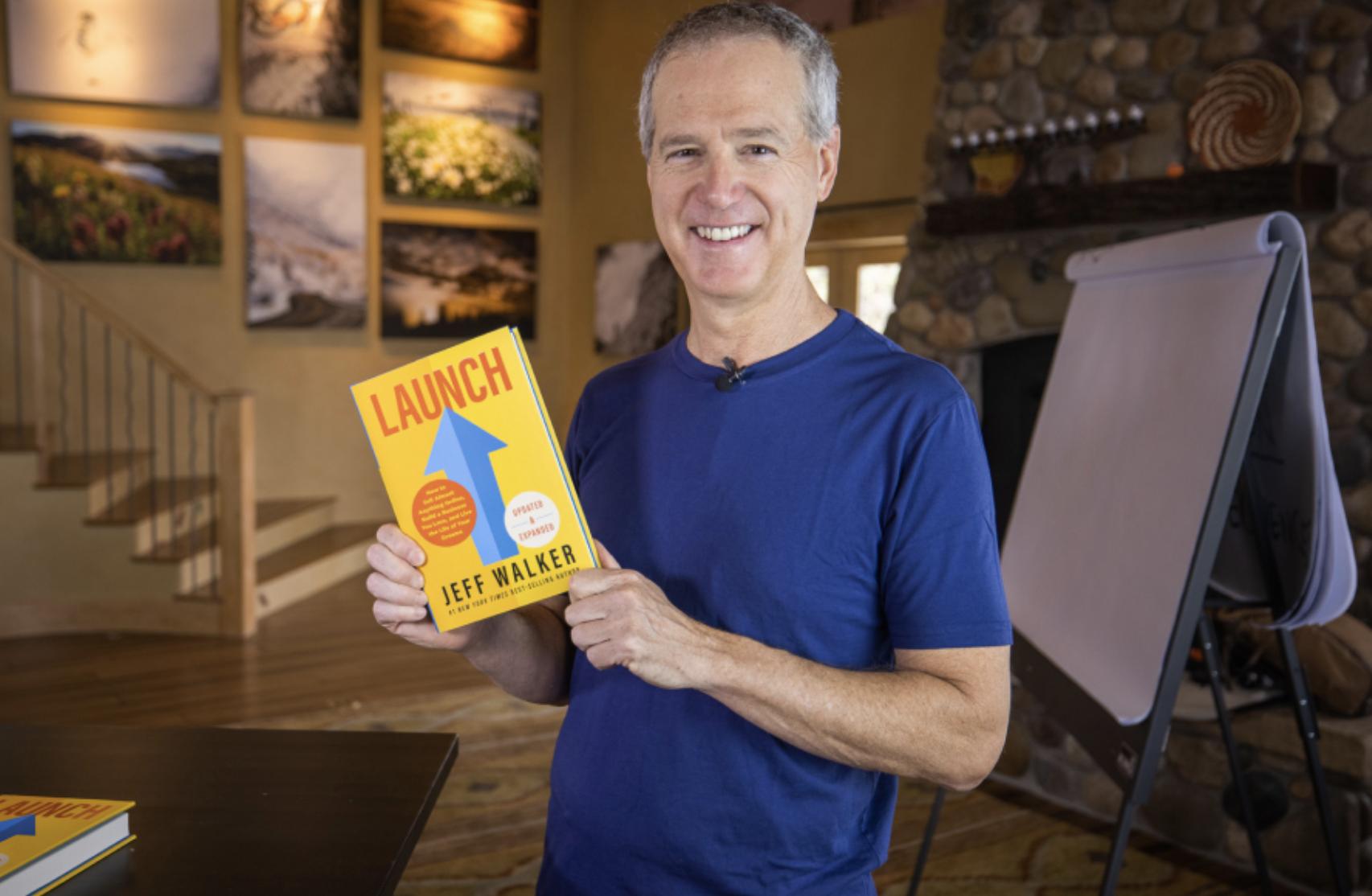 Jeff Walker Product Launch Formula Best Selling Book