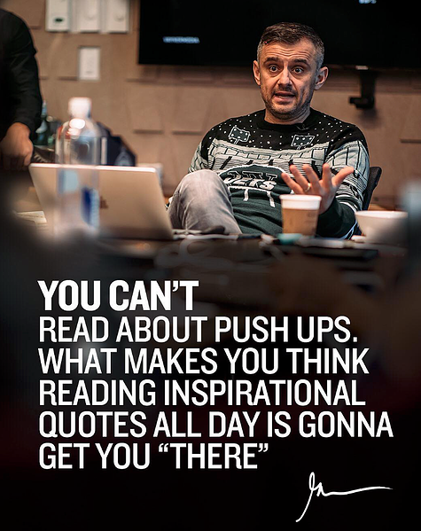 Gary Vaynerchuk Motivational Quote