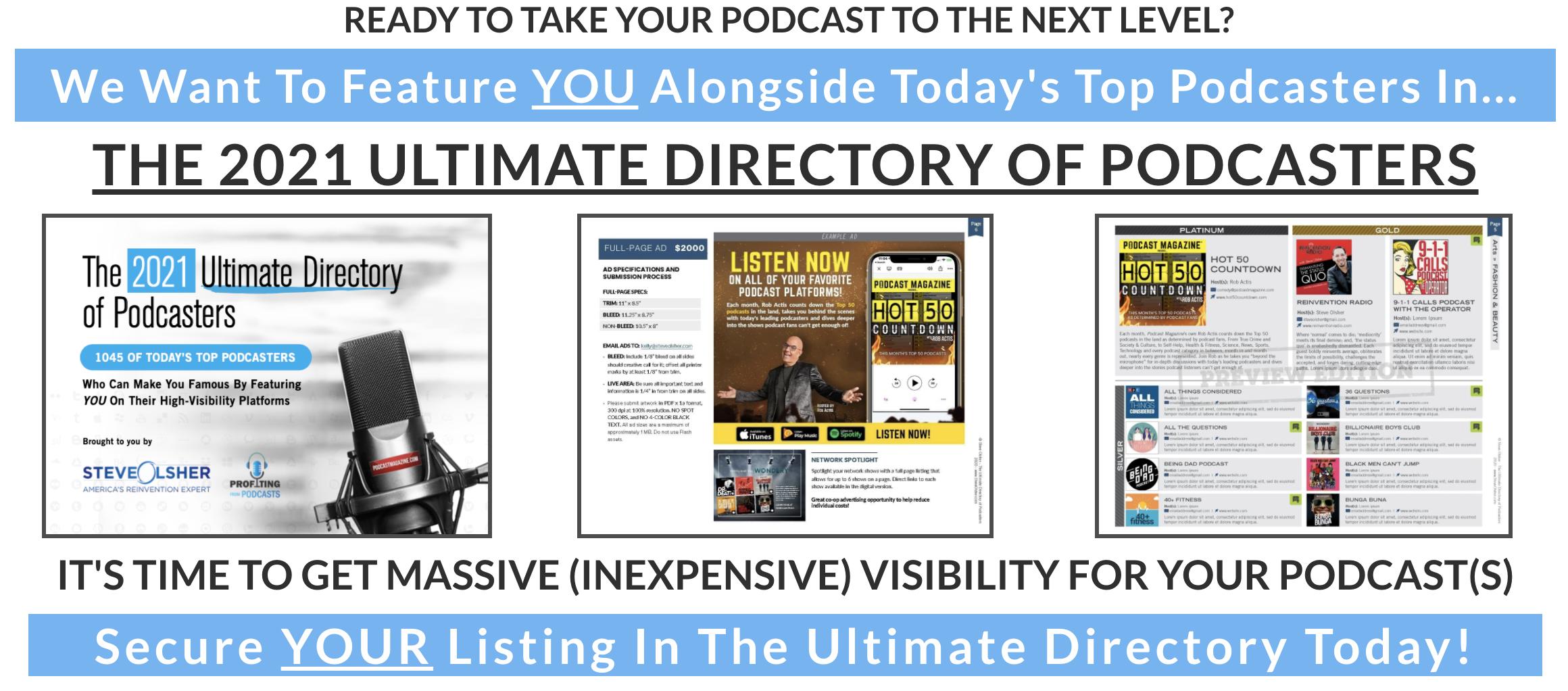 Steve Olshers podcast directory