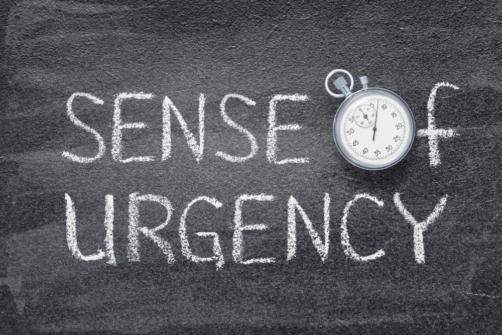 Give your target audience a sense of urgency