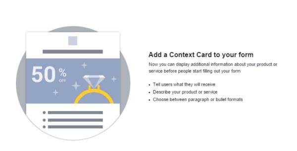 Facebook Context Card Example