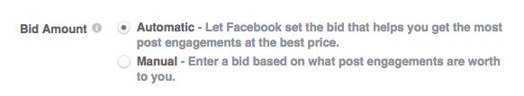 Facebook Ads Bidding Strategy