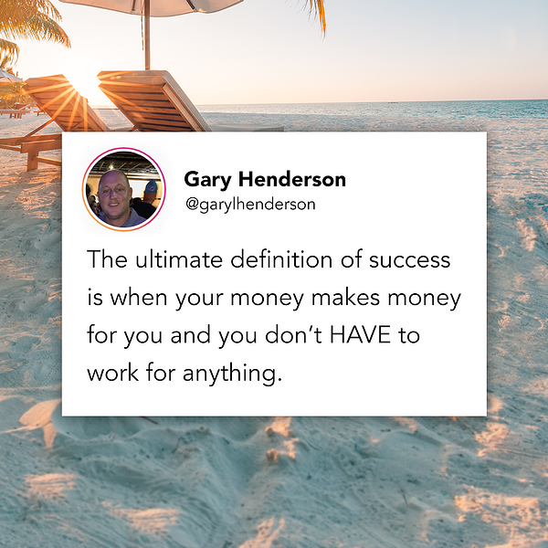 Gary Henderson Instagram Post Example - Create posts that attract an audience