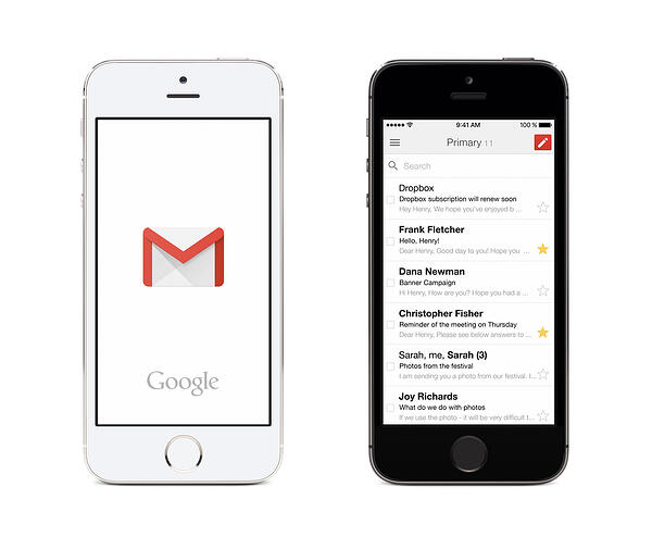 Gmail App Example