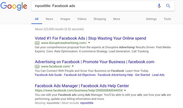 Google Commands Examples