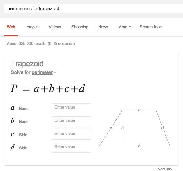 Google Solves Your Math Problems