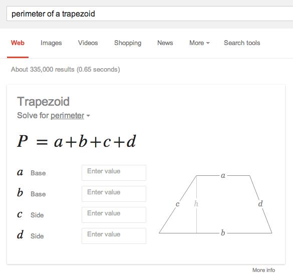 Google Solves Your Math Problems
