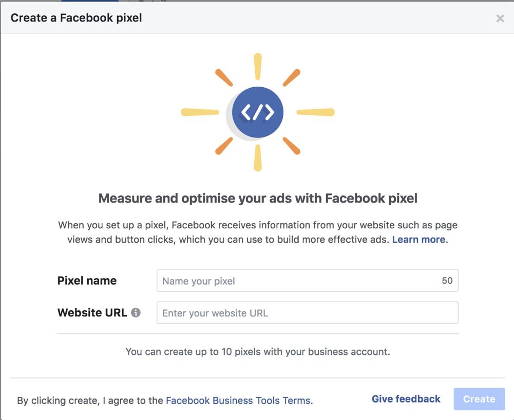 How to setup a Facebook pixel