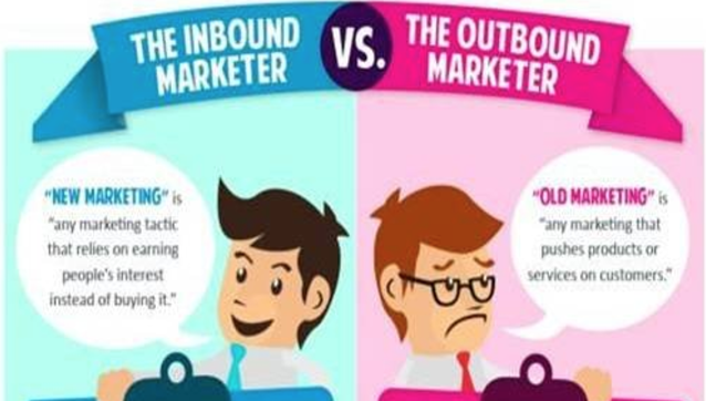 Inbound Versus Outbound Marketer Example