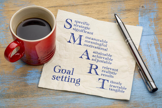 What does smart goals mean?