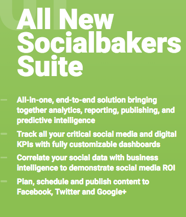 Socialbakers Social Media Reporting