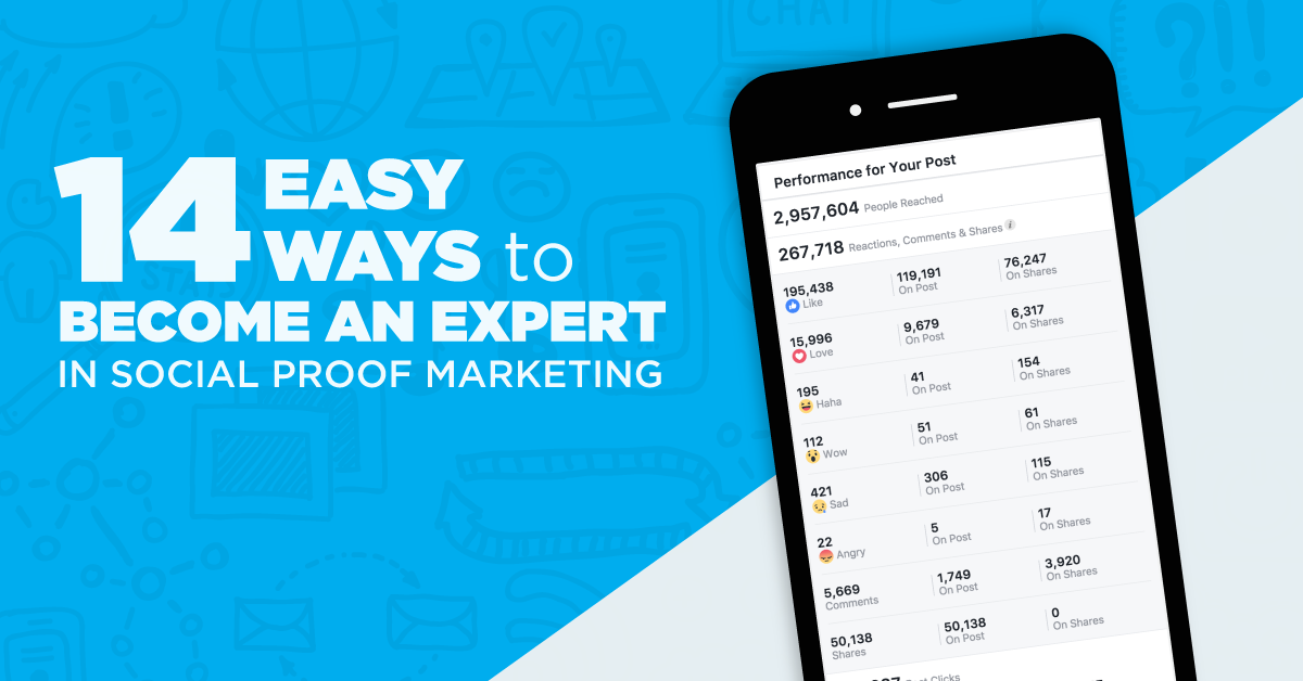 14 Ways To Become An Expert Marketer With Social Proof Marketing