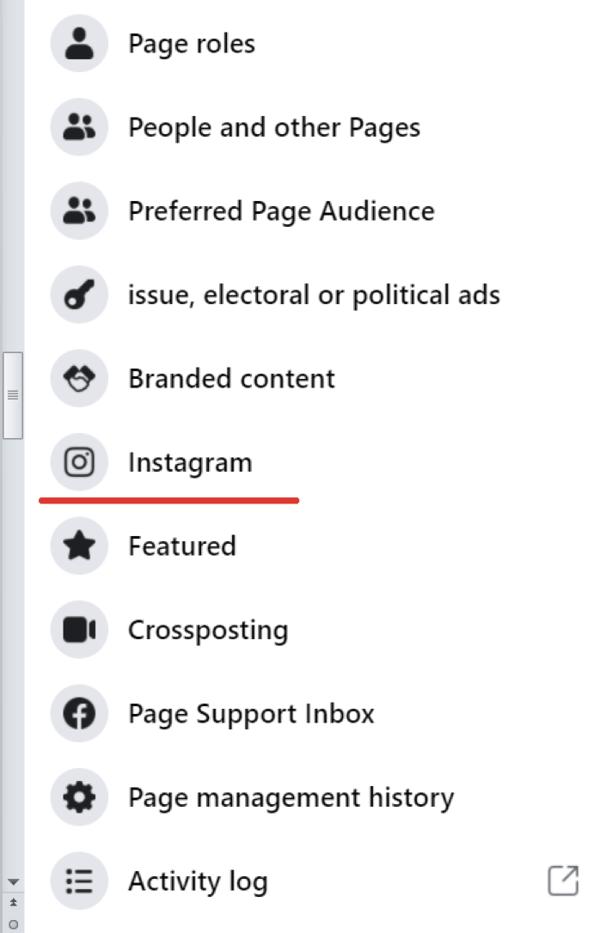 user facebook opton example