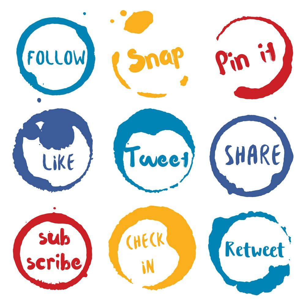 Build relationships through social media