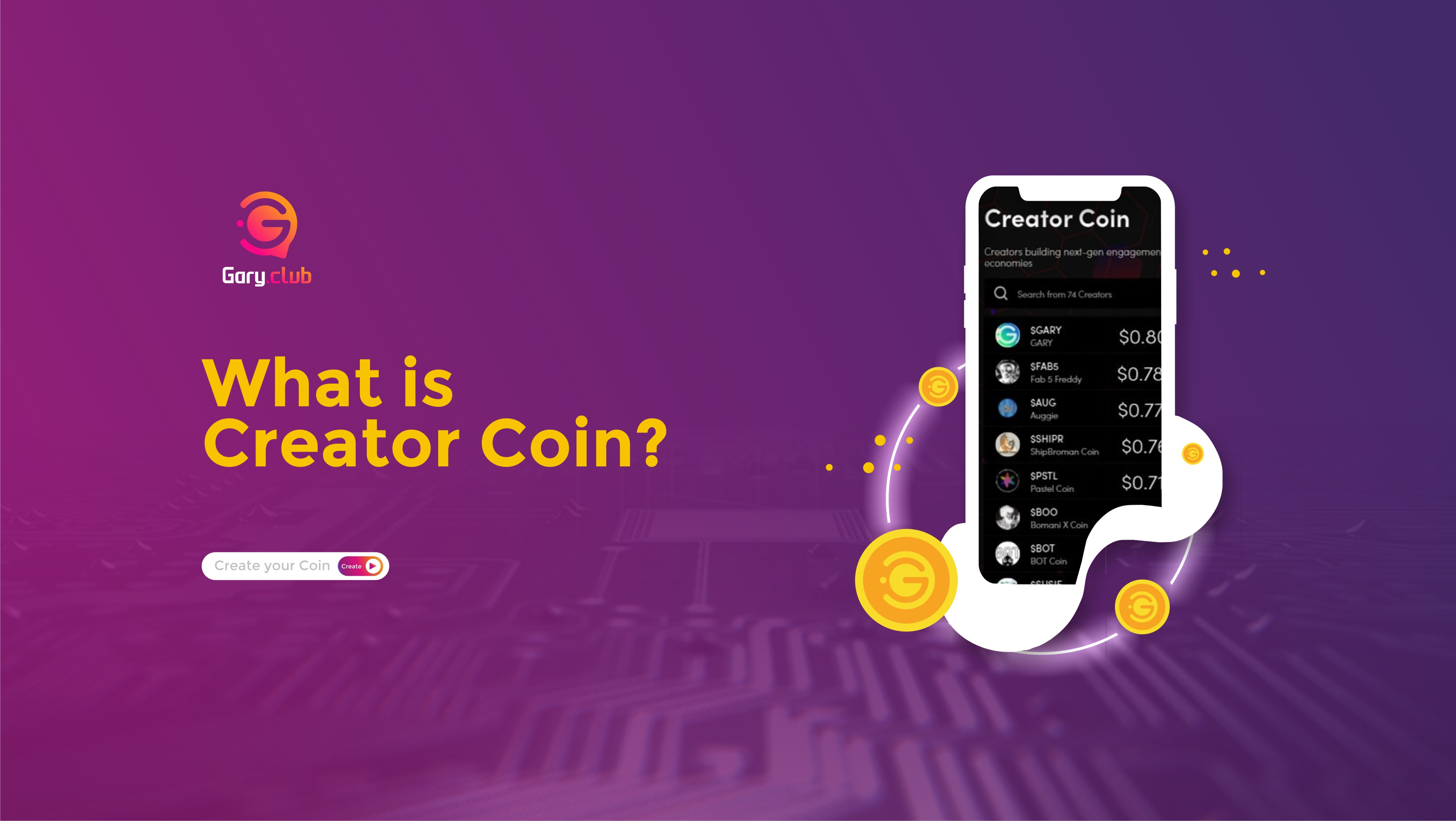 What Are Creator Coins?